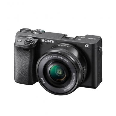 Fotoaparatas Sony α6400 16-50 Kit Black papildoma + 1 metų garantija 2