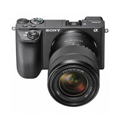 Fotoaparatas Sony α6500 18-135 Kit Black 6