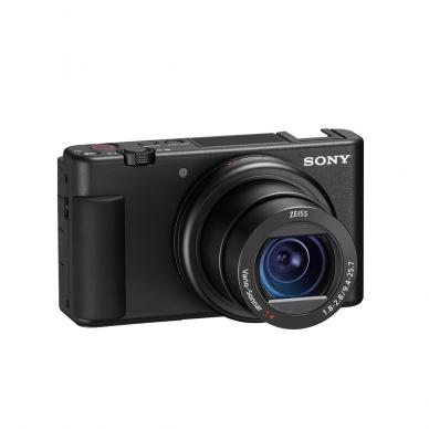 Fotoaparatas Sony ZV-1 su rankena GP-VPT2BT + mikrofonas GP-VPT2BT 4