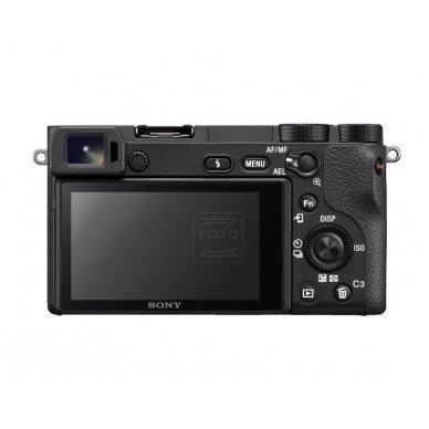 Fotoaparatas Sony α6500 Black + SONY FOTOPAMOKA + 60 mėn. garantija 3