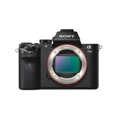 Fotoaparatas Sony α7 Mark II + SONY FOTOPAMOKA + 60 mėn. garantija