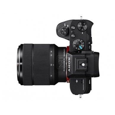 Fotoaparatas Sony α7 Mark II 28-70 Kit + SONY FOTOPAMOKA + 60 mėn. garantija 3