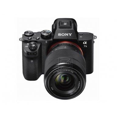 Fotoaparatas Sony α7 Mark II 28-70 Kit + Sony fotopamoka. Garantija 60 mėn. 7