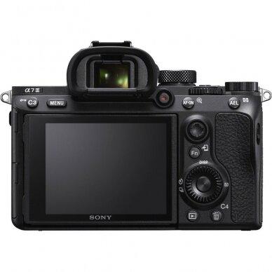 Fotoaparatas Sony A7 Mark III 4