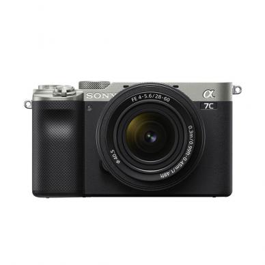 Fotoaparatas Sony Alpha a7C + 28-60mm su rankena GPVPT2BT + mikrofonas ECMW2BT 2