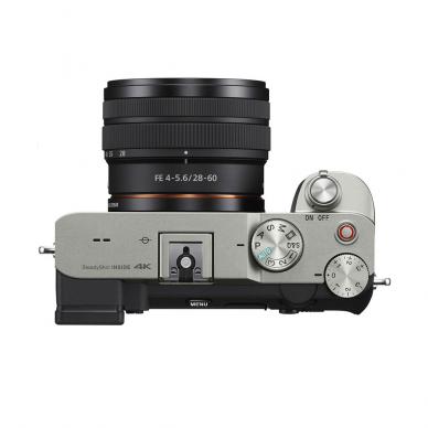 Fotoaparatas Sony Alpha a7C + 28-60mm su rankena GPVPT2BT + mikrofonas ECMW2BT 4