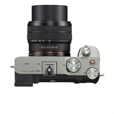 Fotoaparatas Sony Alpha a7C + 28-60mm su rankena GPVPT2BT + mikrofonas ECMW2BT 5
