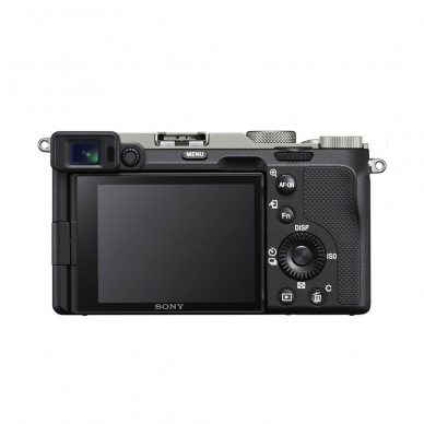 Fotoaparatas Sony Alpha a7C + 28-60mm su rankena GPVPT2BT + mikrofonas ECMW2BT 3