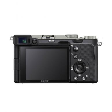 Fotoaparatas Sony Alpha a7C + 28-60mm su rankena GPVPT2BT 3