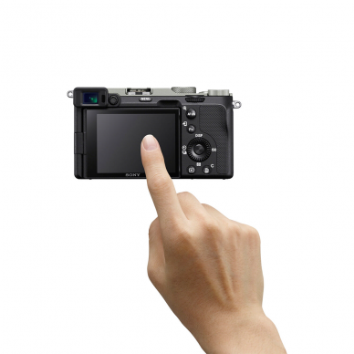 Fotoaparatas Sony Alpha a7C + 28-60mm su rankena GPVPT2BT + mikrofonas ECMW2BT 7