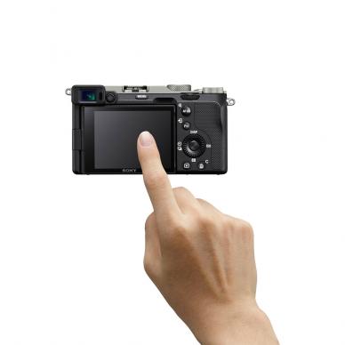 Fotoaparatas Sony Alpha a7C + 28-60mm su rankena GPVPT2BT 7