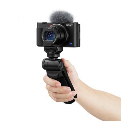 Fotoaparatas Sony ZV-1 su rankena GP-VPT2BT + mikrofonas GP-VPT2BT 2