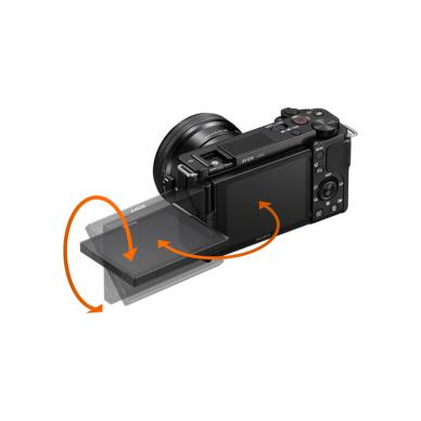 Fotoaparatas Sony ZV-E10 16-50mm Kit 5