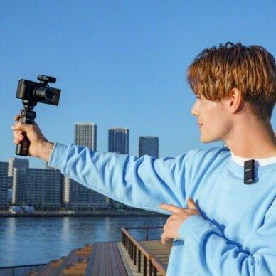 Fotoaparatas Sony ZV-1 su rankena GP-VPT2BT + mikrofonas GP-VPT2BT 13