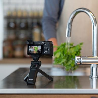 Fotoaparato rankena GPVPT2BT su nuotoliniu belaidžiu valdikliu 8