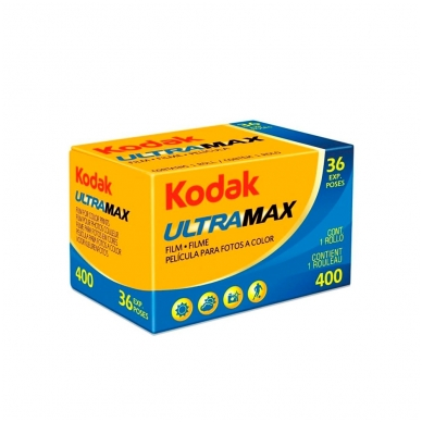 Fotojuosta Kodak Ultramax 400 135/36 2