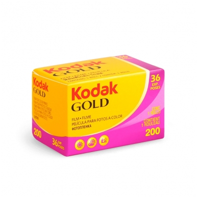Fotojuosta Kodak Gold 200 135/36 2