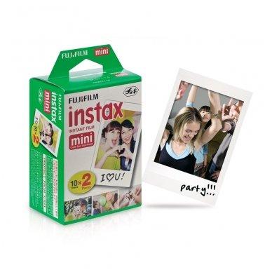 Fotoplokštelės Fujifilm Instax mini 20 vnt 2