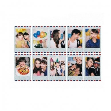 Fotoplokštelės Fujifilm Instax mini Airmail 10 vnt 2