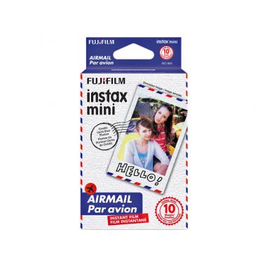 Fotoplokštelės Fujifilm Instax mini Airmail 10 vnt