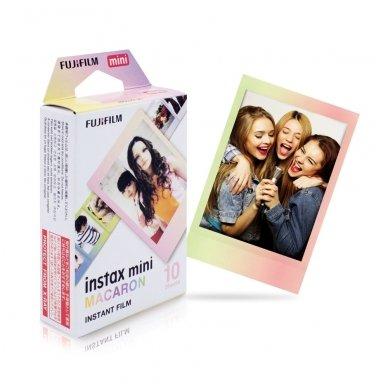 Fotoplokštelės Fujifilm Instax mini Macaron 10 vnt 2