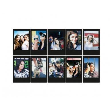 Fotoplokštelės Fujifilm Instax mini Black 10 vnt 3
