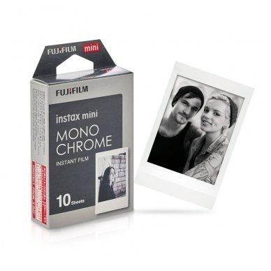 Fotoplokštelės Fujifilm Instax mini Monochrome 10 vnt 2