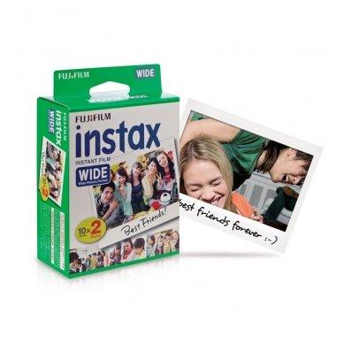 Fotoplokštelės Fujifilm Instax wide 20 vnt 2