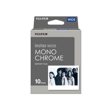 Fotoplokštelės Fujifilm Instax wide Monochrome 10 vnt
