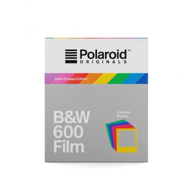 Fotoplokštelės Polaroid Originals B&W 600 Color Frame 8 vnt