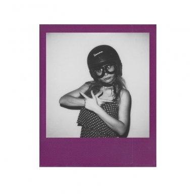Fotoplokštelės Polaroid Originals B&W 600 Color Frame 8 vnt 6