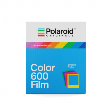Fotoplokštelės Polaroid Originals Color 600 Color Frame 8 vnt
