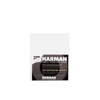 Fotopopierius Ilford Harman Direct Positive FB 4x5in / 25 lapai