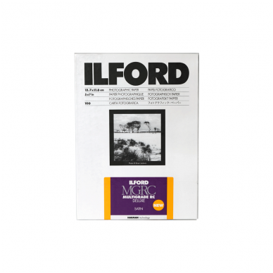 Fotopopierius Ilford MG Deluxe Satin 12.7x17.8 cm / 100 lapų