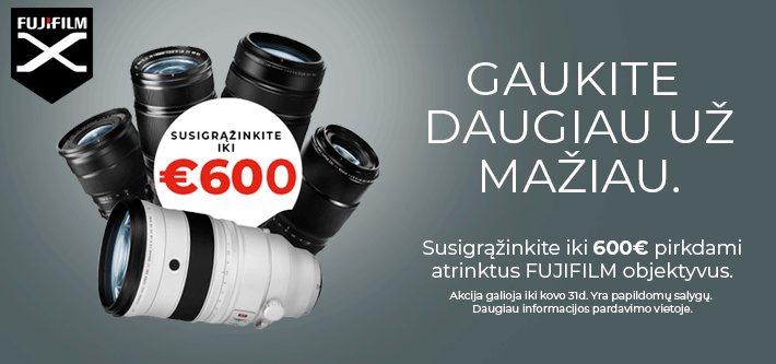 Fujifilm pavasaris