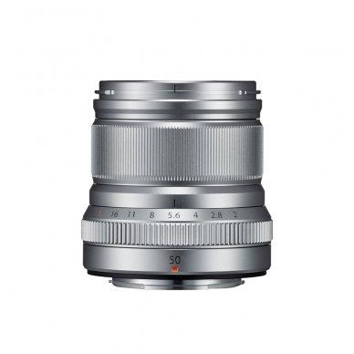 Fujinon XF 50mm F2 R WR Silver 2