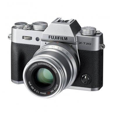 Fujinon XF 50mm F2 R WR Silver 3