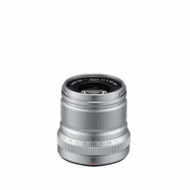 Fujinon XF 50mm F2 R WR Silver