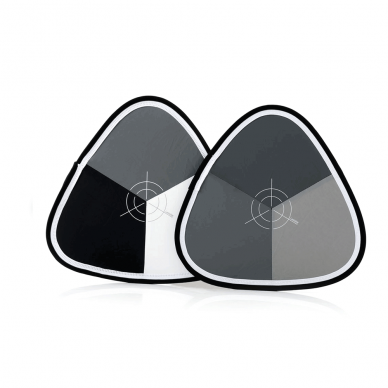 Kontrolinė kortelė Lastolite Xpobalance 38cm Pilka/Balta/Juoda