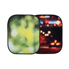 Medžiaginins fonas Lastolite Summer Foliage/City Lights