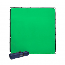 Medžiaginis fonas StudioLink Chroma key Green Kit 3x3m
