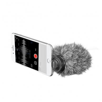 "Mikrofonas Boya BY-DM200 (""LIGHTNING"" IOS) 2"