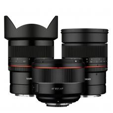 Nauji Samyang objektyvai sisteminiams ir veidrodiniams Nikon fotoaparatams
