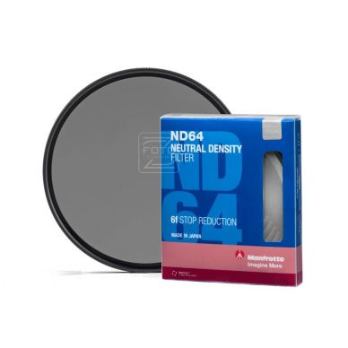 ND filtras Manfrotto ND64 62 mm