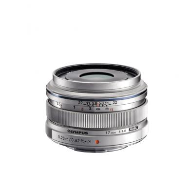 Olympus M.Zuiko Digital 17mm 1:1.8 Silver 3