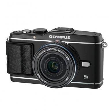 Olympus M.Zuiko Digital 17mm 1:2.8 Pancake Black 2