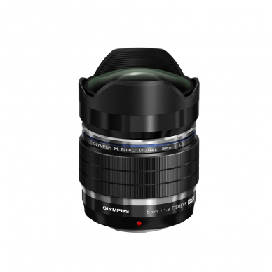 Olympus M.Zuiko Digital ED 8mm 1:1.8 Fisheye Pro 4