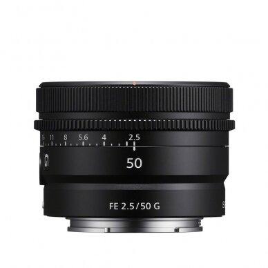 Objektyvas Sony FE 50mm F2.5 G 4