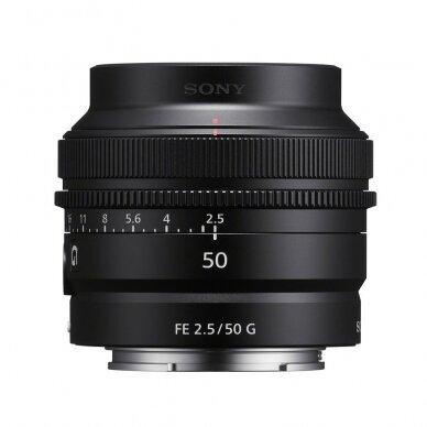 Objektyvas Sony FE 50mm F2.5 G 5