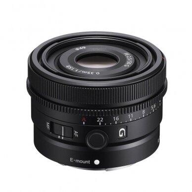 Objektyvas Sony FE 50mm F2.5 G 2